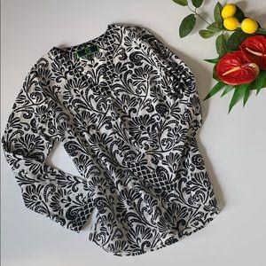 C. Wonder Cotton Silk Blouse